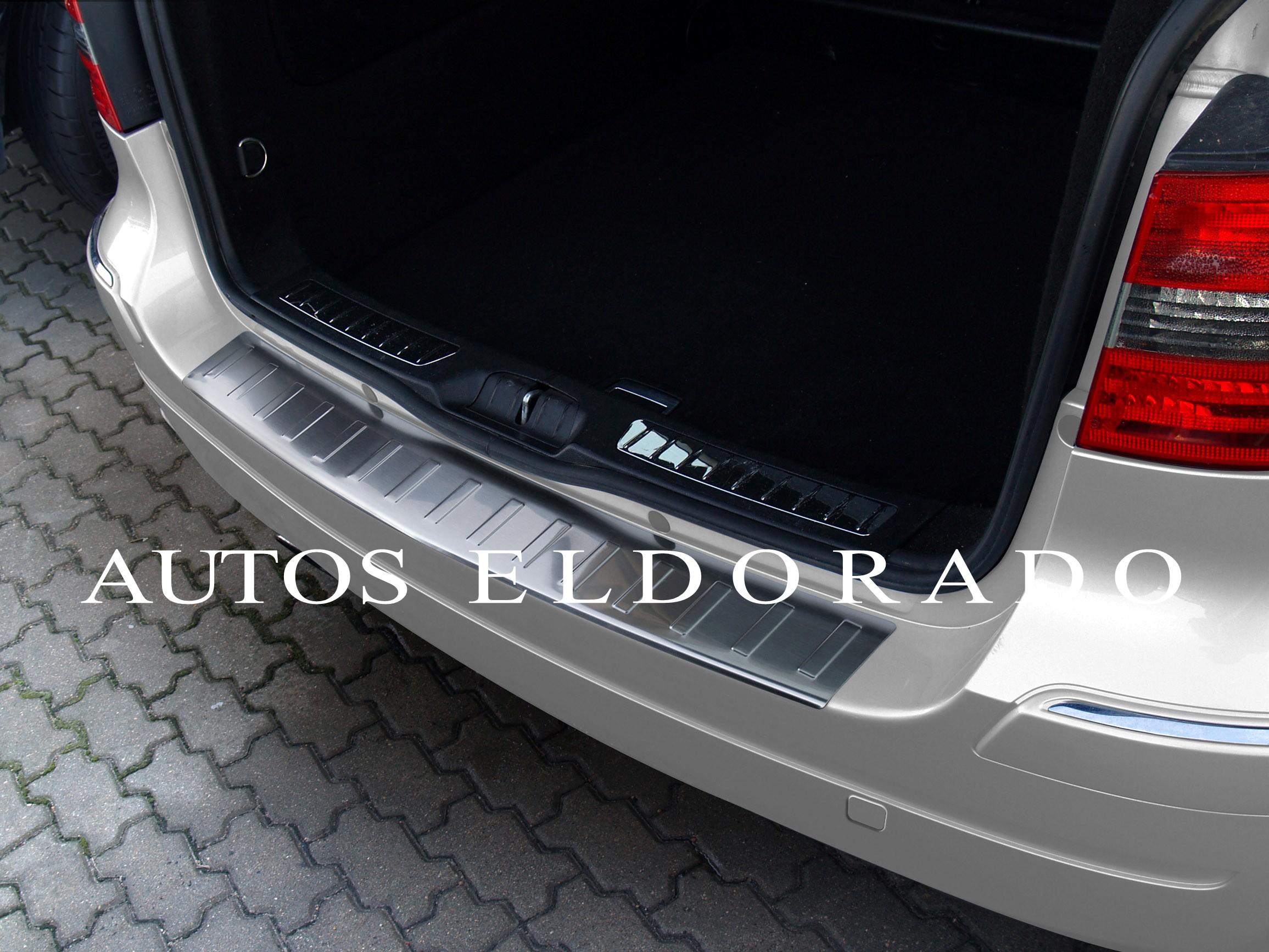 Desde 2005 Accesorios para coche Protector Maletero Mercedes Clase B W245 Alfombrillas y moquetas