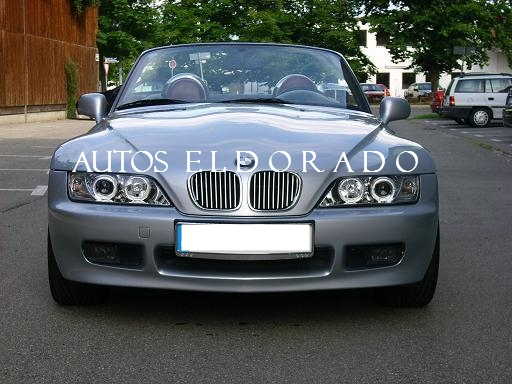 Faros Angel Eyes Bmw Z3 96 03 Cromados