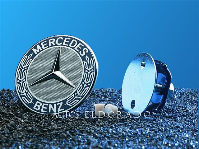 Tapon Emblema De Capot Mercedes Benz