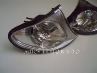 INTERMITENTES FRONTALES BMW E46 SEDAN 02-05 PLATA