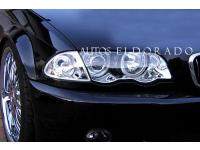 FAROS ANGEL EYES BMW SERIE 3 E46 SEDAN 98-01 CROMO + intermitent