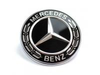 TAPON EMBLEMA DE CAPOT MERCEDES-BENZ BLACK EDITION