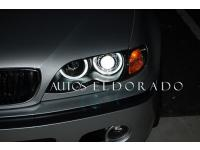 FAROS ANGEL EYES CCFL BMW SERIE 3 E46 4p 02-05 NEGRO