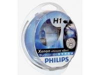 Philips H1 BlueVision ultra Xenon effect Set + W5W