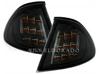 INTERMITENTES FRONTALES BMW E46 SEDAN 98-01 NEGRO LED