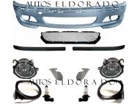 DEFENSA BMW E46 PAQUETE M Sedan/Touring + NIEBLAS M + GUIAS