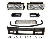 PACK DEFENSA + NIEBLAS TRANSPARANTES BMW SERIE 3 E36