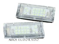MODULOS LED DE MATRICULA BMW E46 SEDAN / TOURING