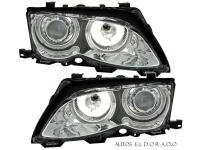 FAROS ANGEL EYES CCFL BMW SERIE 3 E46 4p 02-05 CROMO